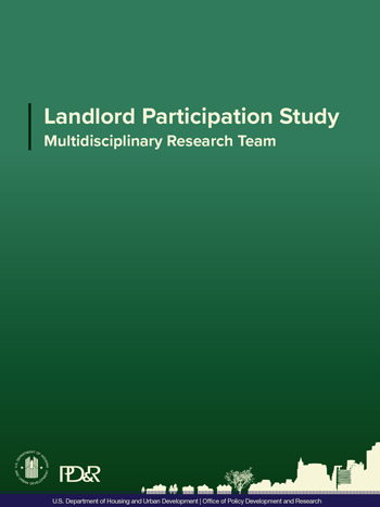 Landlord Participation Study