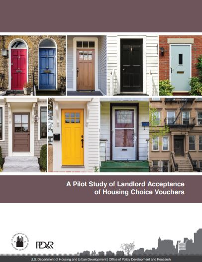 A Pilot Study of Landlord Acceptance of Housing Choice Vouchers